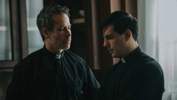 Watch Guy Pearce 'Exorcise' In The Seventh Day UK Trailer