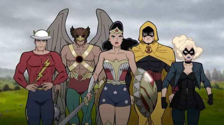 The Flash Runs Into Justice Society: World War II!