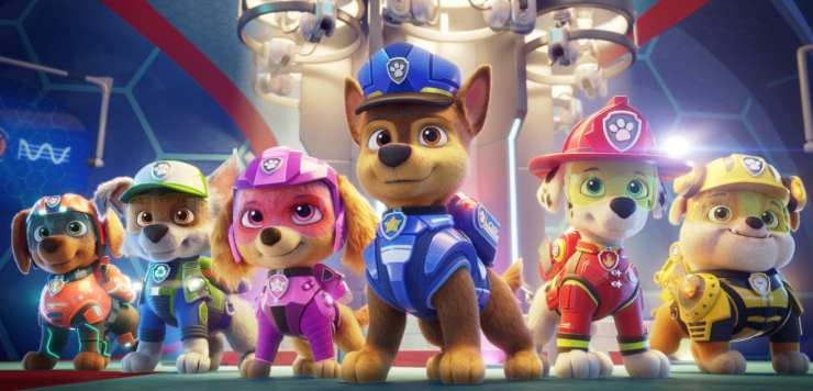 The Paw Patrol Movie First Look Images, Kim Kardashian Joins Cast