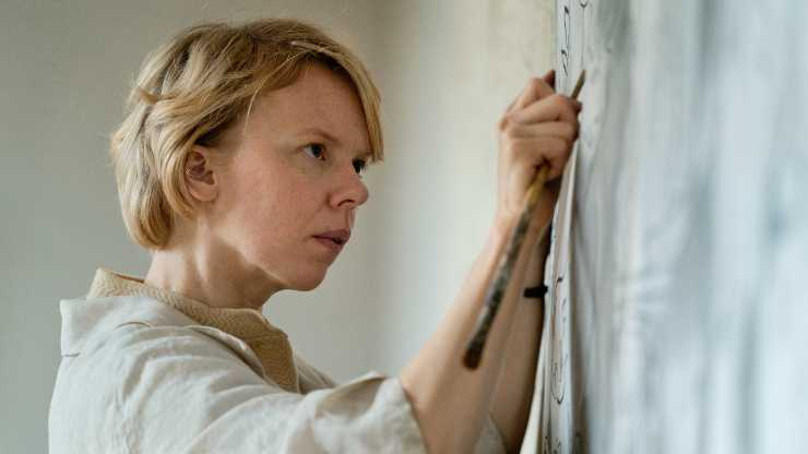 Watch The UK Trailer For Tove, The Moomins Creator