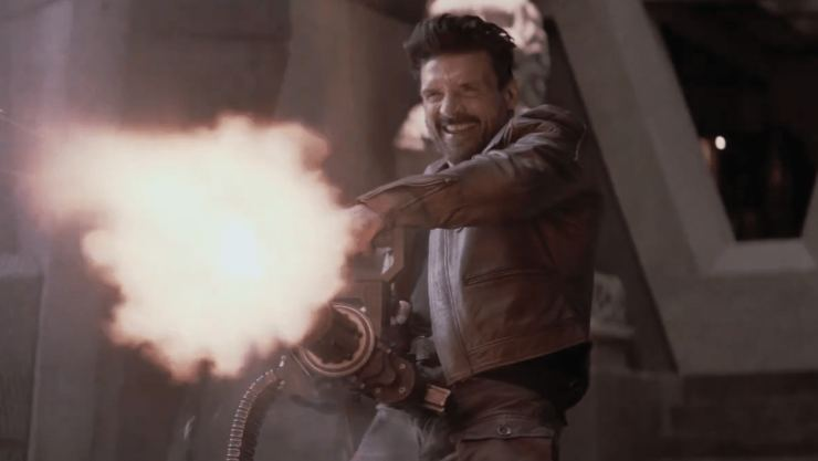 Frank Grillo's Life Stuck In A Loop In Boss Level UK Trailer