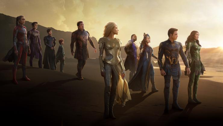 Watch The Epic Second Trailer For Marvels Eternals