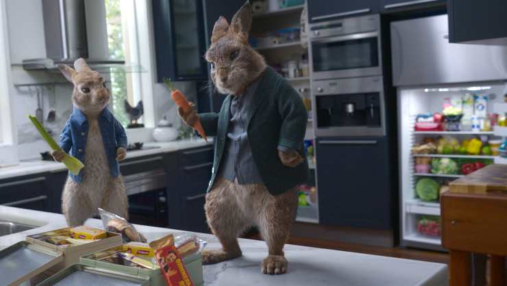Peter Rabbit 2 Is Still Hopping At Top Of Official Film Chart