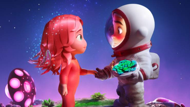 Watch The Trailer For Apple TV+  Animated Short Blush