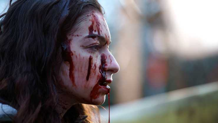 In New Slasher: Flesh & Blood Clip, Grace Gets Into A 'Tight Spot'