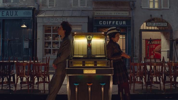 Watch Awesome New The French Dispatch Animated Music Video
