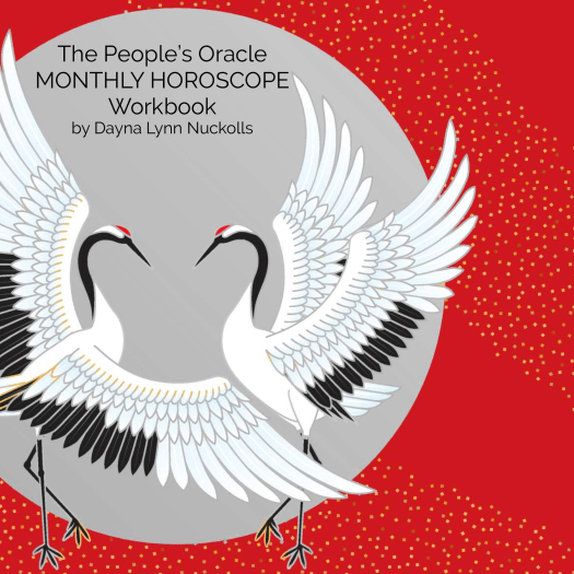 The People's Oracle Monthly Horoscope Workbook (Cover)