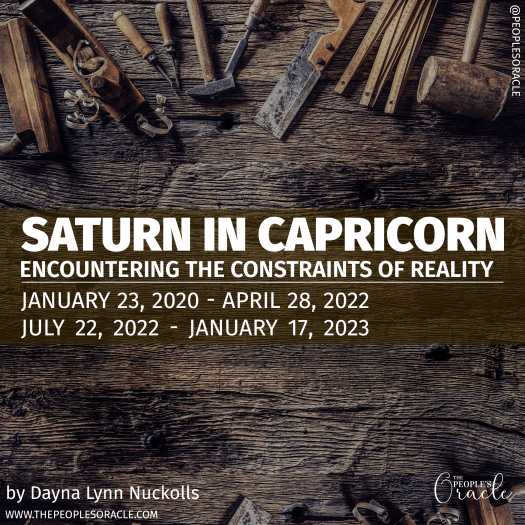 Saturn in Capricorn. Wood working tools.
