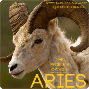 Aries ram by The People's Orace