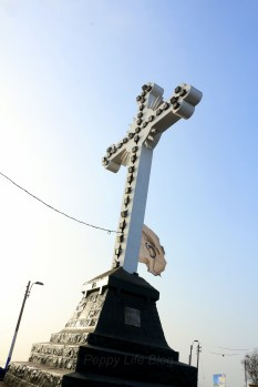 Cross at cerro San Cristobal