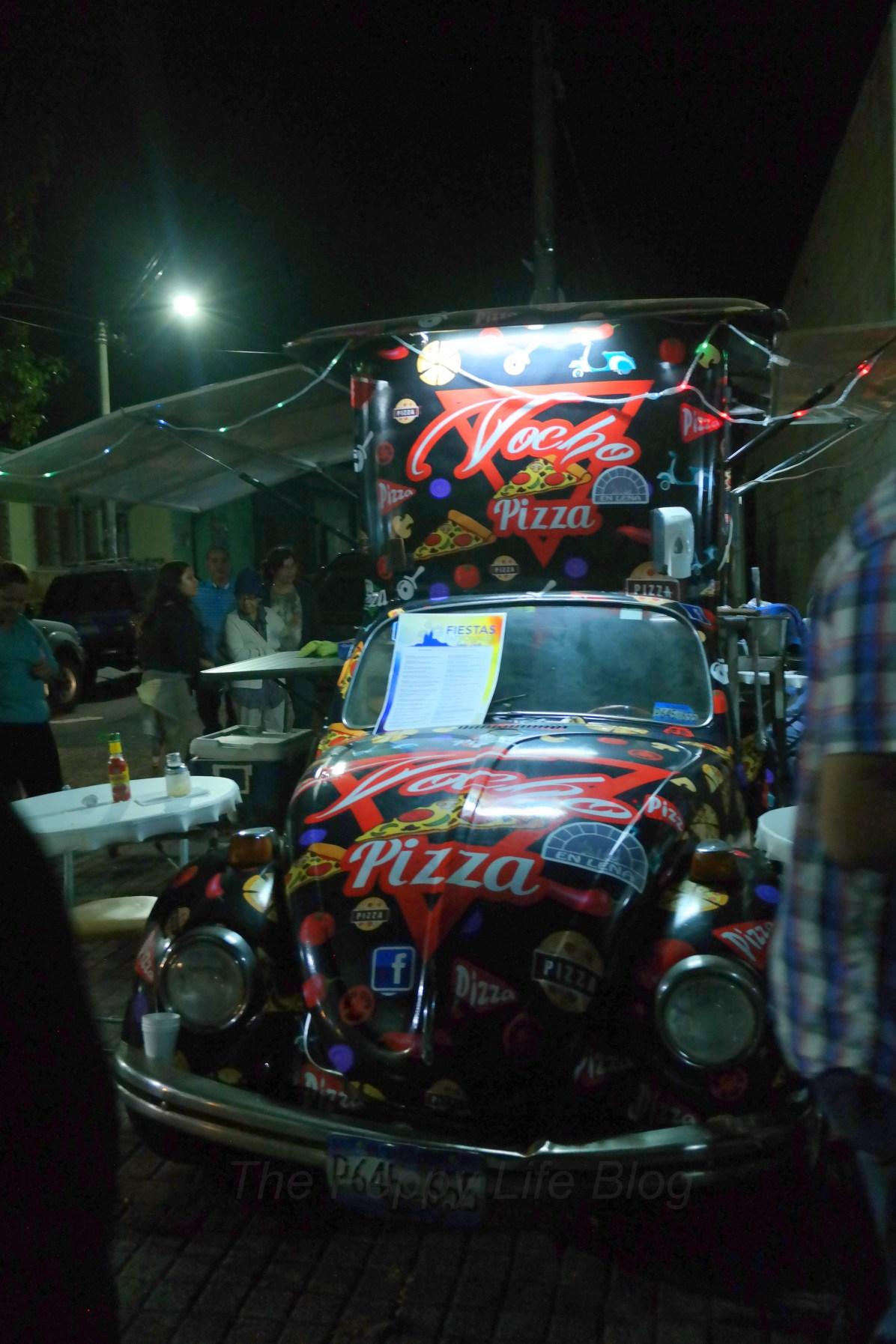 The mobile pizzeria!