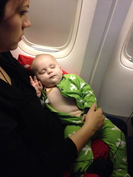 how Chambers slept the last 3 hours to ATL