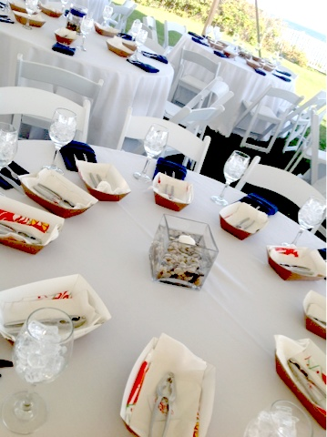clambake rehearsal dinner the perfect plan