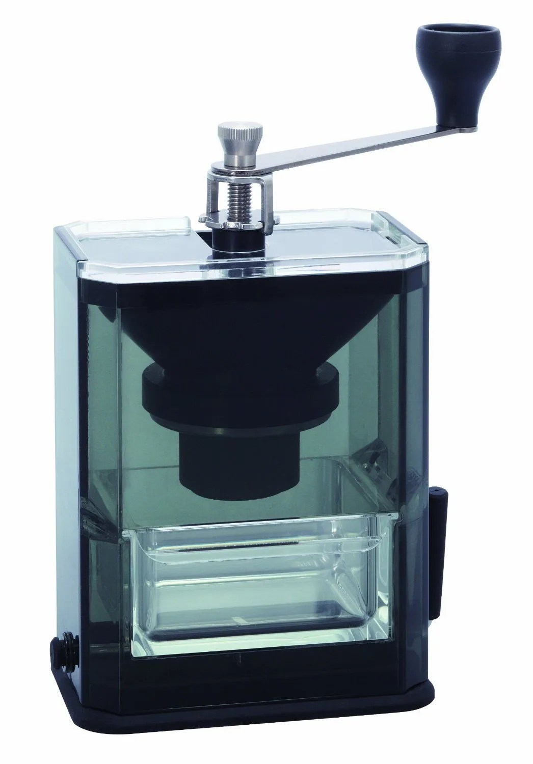 Hario Acrylic Coffee Grinder with Ceramic Burrs