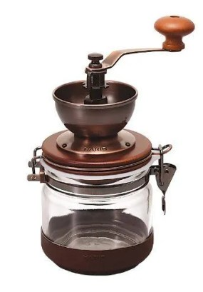 Hario CMHC-4C 1-Piece Ceramic Canister Coffee Mill