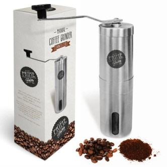 Manual Stainless Steel Coffee Grinder Mill