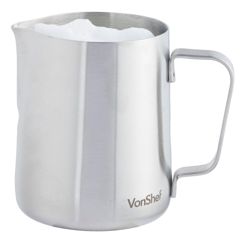 VonShef Stainless Steel Milk Jug