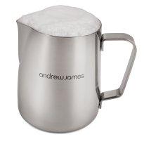 Stainless Steel Coffee Frothing Milk Jug Latte by Andrew James
