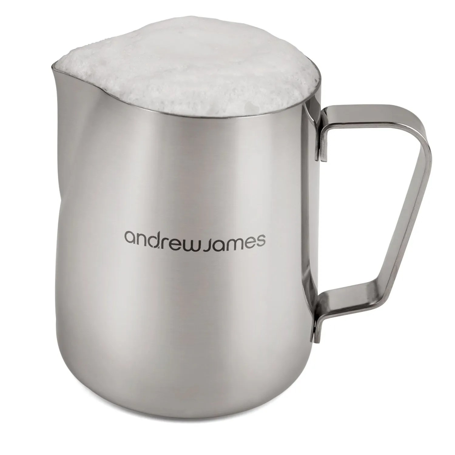 Stainless Steel Coffee Frothing Milk Jug Latte by Andrew James