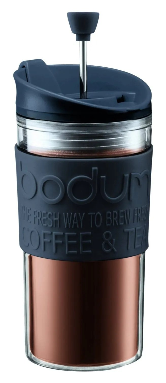 Bodum Travel Press Set Coffee Maker with Extra Lid