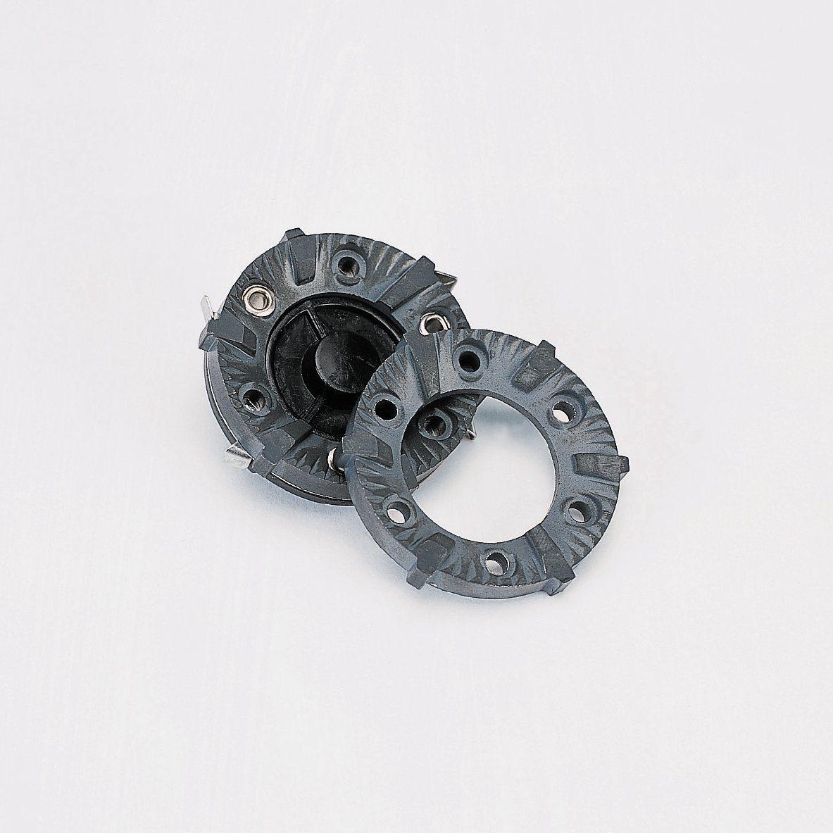cvx242 burrs inside the grinder
