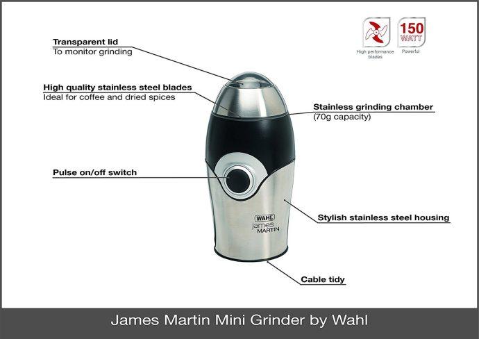 James Martin ZX595 features