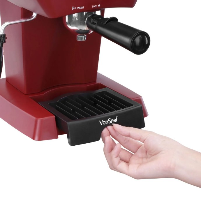 VonShef 4 Bar drip tray