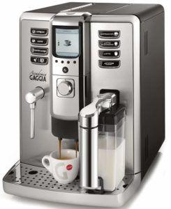 Gaggia Accademia RI970204 Bean to Cup Espresso and Cappuccino Coffee Machine