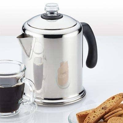 Lakeland Retro Stainless Steel Stovetop Coffee Percolator Review