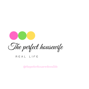 the perfect housewife real life blog logo