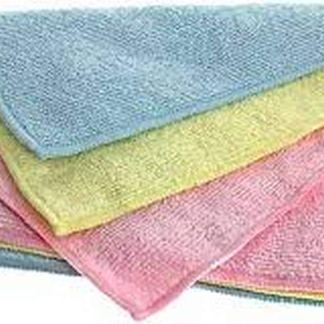 Norwex Baby Microfiber Wash Cloths Set of 3 Cloths: BacLock Anti-Bacterica Anti-Microbial