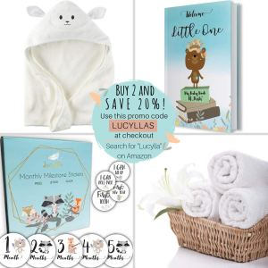 Organic Baby Washcloths - Ultra Soft Bamboo Wash Clothes for Face - Perfect for Sensitive Skin and All Ages (Infant, Kids, Adults) - Super Absorbent and Dye Free - Girl and Boy