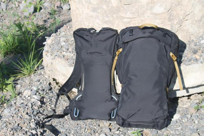 Boreas bootlegger review suspension back panel