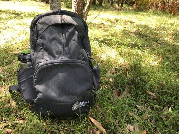 Vertx EDC Ready Pack Review Front and Nalgene Pocket