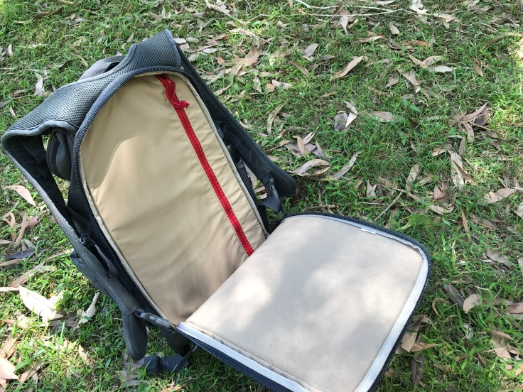 Vertx EDC Ready Pack Review Rear Panel