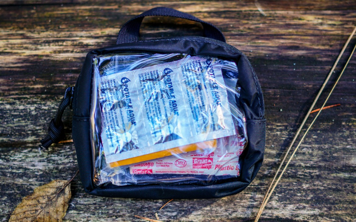 S.O Tech Go Pouch 2 Quick Look first aid kit