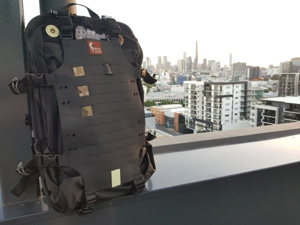 Hill People Gear Aston House Backcountry Backpack cityscape urban