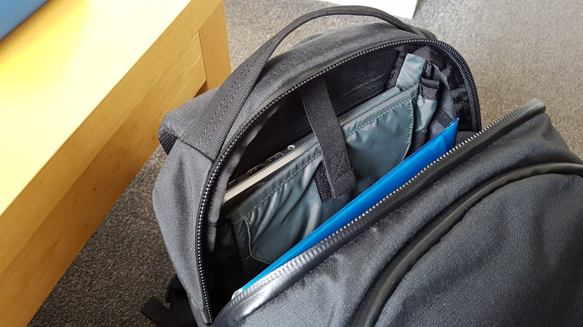 Mystery Ranch Slick review laptop compartment padded