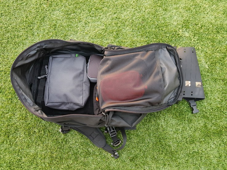 Hill People Gear Aston House Backcountry main compartment