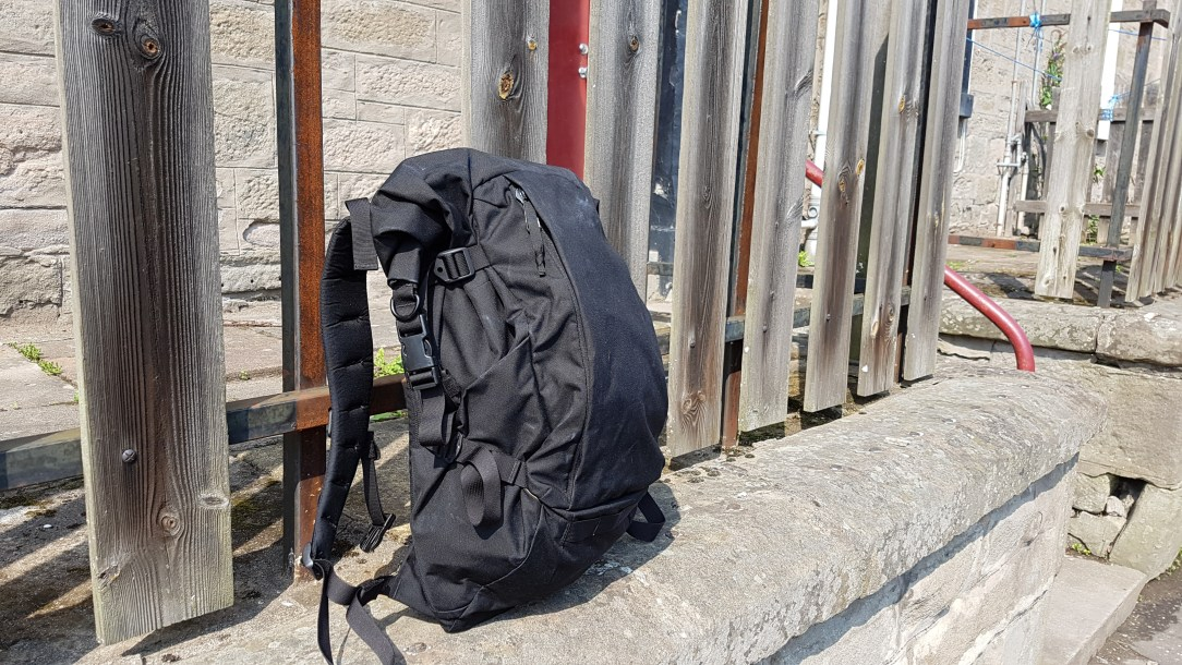 Attitude Supply ATD1 Backpack Review outside profile