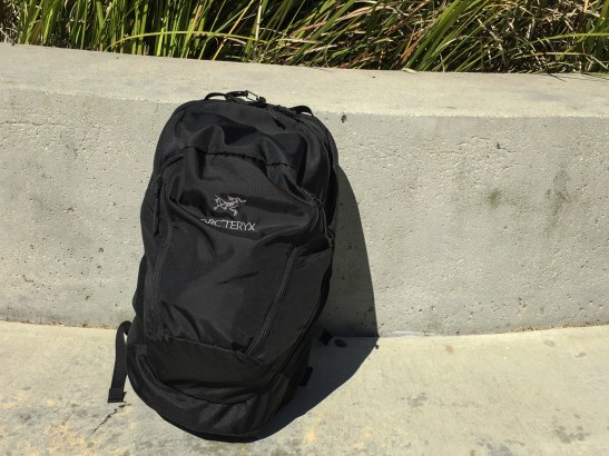 Arc'teryx Mantis 26 backpack review black