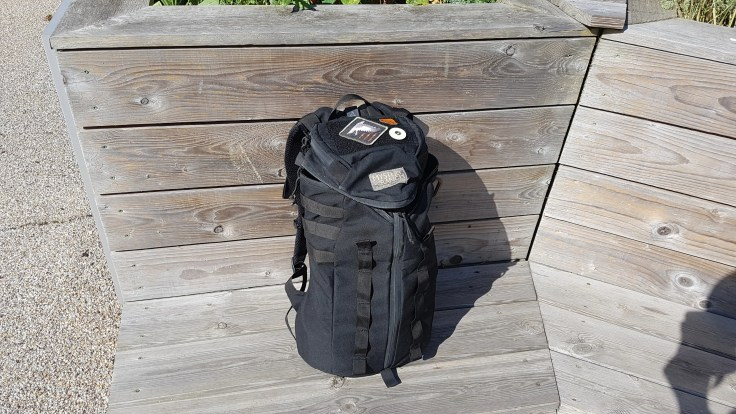 Mystery Ranch 1-Day Assault Pack 1DAP backpack review outdoors natural light black