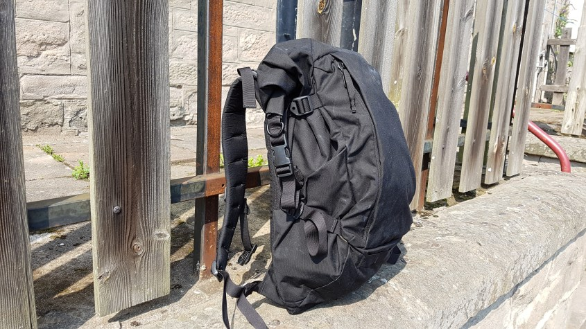 ATD1 manufacturing made in Italy backpack outside