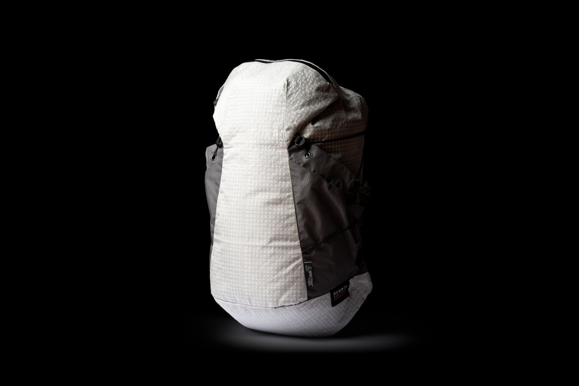 Remote Equipment designer interview scrambler concept prototype backpack photo