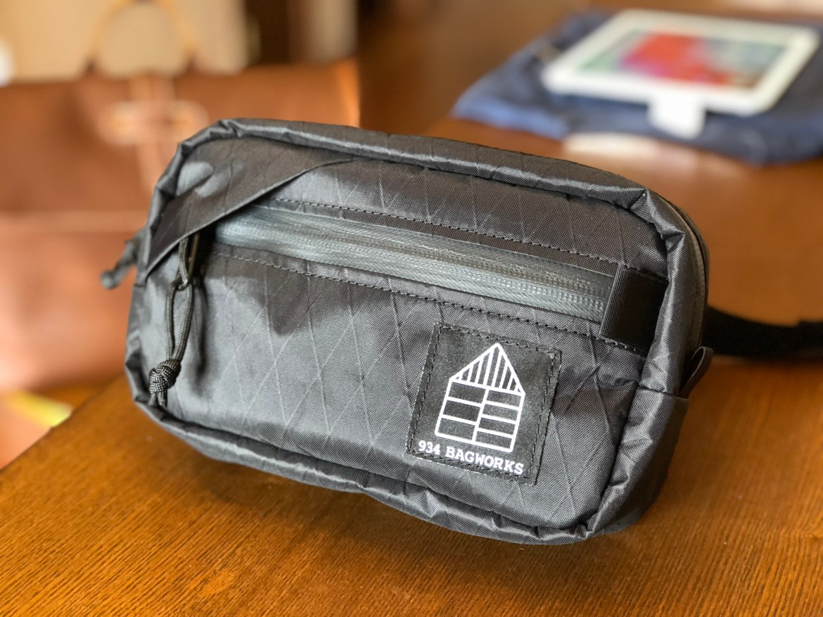 934 Bagworks Fanny Pack front view