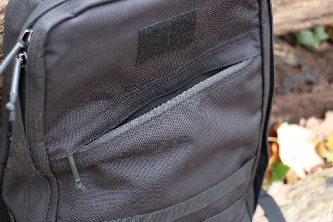 goruck gr1 review front slash pocket pals molle zippers