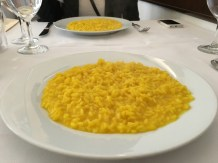 Milanese risotto with saffron