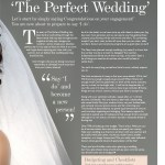 The Perfect Wedding Issue 7 Contents page 5
