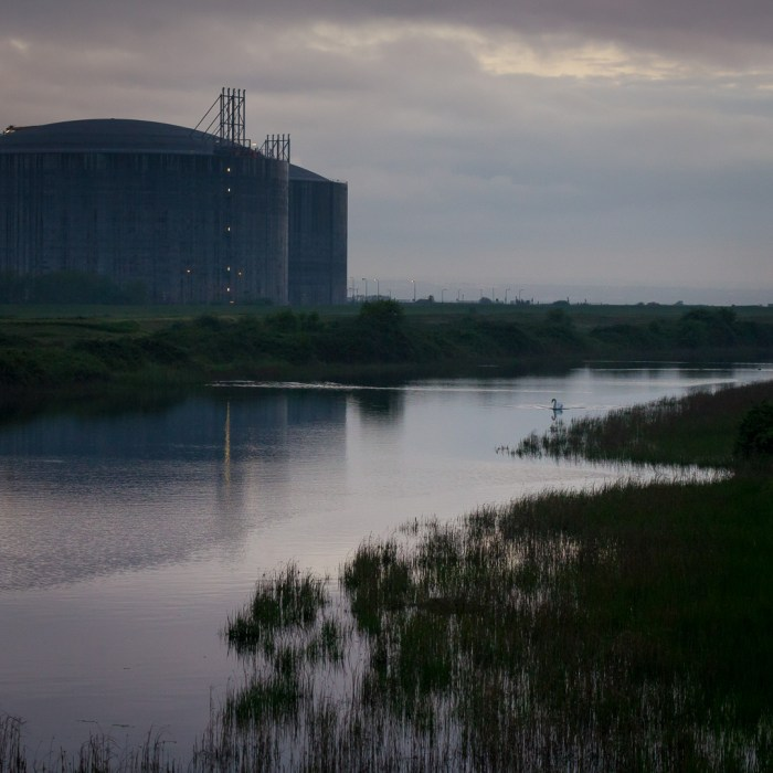 Liquified natural gas plant, Isle of Grain I.