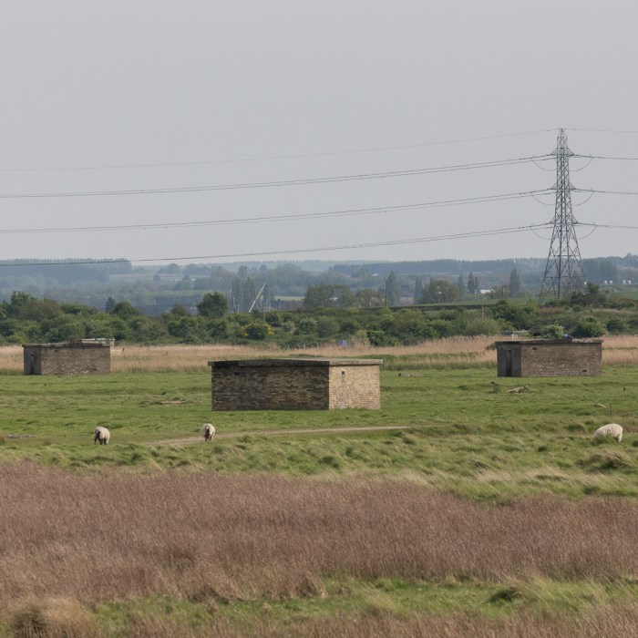 Uplees marshes, gunpowder works, Faversham.